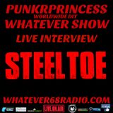 PunkrPrincess Whatever Show live interview with Steeltoe recorded live 8/30/16