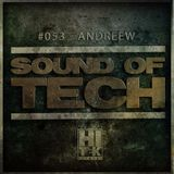 Hi Tek Records Podcast - Sound Of Tech 053 with AndReew (Live)
