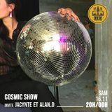 JACYNTE - ALAN.D / Cosmic Show / 16 novembre 2019