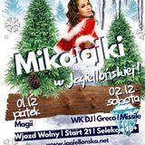Mikołajki 02/12/17 Jagiellońska C&C Bar Żywiec - Grëco x Missile x WK DJ x MC Diuti