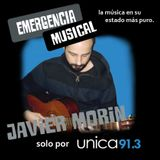 Javier Morin en Emergencia Musical