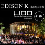 Edison K-Live session @ Lido Beach Lounge Cannobio, IT (13.06.2014)