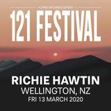 Richie Hawtin - 121 Festival - Wellington, New Zealand - 13.03.2020