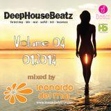 DeepHouseBeatz Volume 04 ( 01.2014 ) by Leonardo del Mar