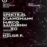 Marco Baumann @ BHC: New Faces - Tresor Berlin - 11.09.2013