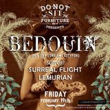 Bedouin – Do Not Sit On The Furniture / Miami Beach / 02.19.2016