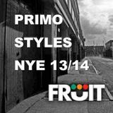Primo Styles: New Years Eve mix 2013/14 @ Fruit Club, Hull