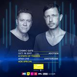Cosmic Gate - Live @ A State Of Trance 836 (AFAS Live, ADE, Netherlands) 2017-10-19