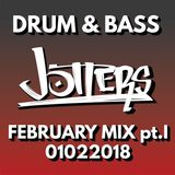 Jotters February 2018 pt.i mix - drum and bass