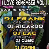 Sala Free Space Gelsa Remember  -  DJ Frank , Dj Ricardo , Dj Lack  vol2  (16-9-2012)