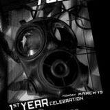 Banging Techno sets 1 year Birthday Stevie Wilson // Florian Munkt