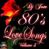 80's Love Songs Volume 3