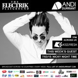 Electrik Playground 7/3/15 inc Nicky Night Time Guest Session