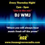 DJ WM J HOUSE GROOVE RADIO 8\10