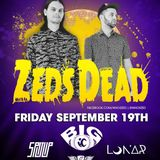 ZEDS DEAD SET @ TUXEDO JUNCTION 9/19/14