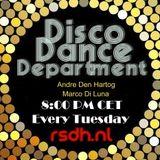 Radio Stad Den Haag - Disco Dance Department. March 20, 2018.