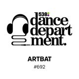 The Best of Dance Department 692 with ARTBAT special