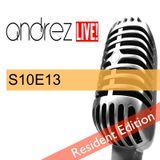 Andrez LIVE! S10E13 On 07.12.2016 ***