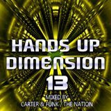 Hands Up Dimension 13 - Mixed by Carter & Funk / The Nation
