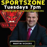 Salford CEO Martin Vickers on Leigh cup defeat and Iestyn Harris's Sale Sharks rumour