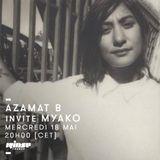 Azamat B Invite Myako - 18 Mai 2016