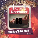 Jukess' Advent Calendar - 18th December: Sunday Slow Jamz Mix