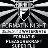 Super Flu @ Formatik Nacht,Watergate Club (05-04-2013)