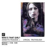 Who's That Girl? for NTS | ANNETTE PEACOCK | Lyrical Truthology