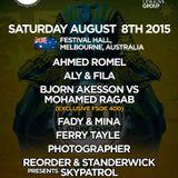 Ahmed Romel - Live @ FSOE 400, Festival Hall (Melbourne, Australia) - 08.08.2015