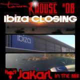 townHOUSE 08 - Jakarl - Ibiza Closing Mix (Sunday Session, Vocal House, Soulful House)