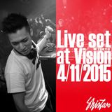 Live Set at Sound Museum Vision (Tokyo) 2015/04/11