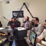Συνέντευξη στο στούντιο του ομογενειακού ραδιοφώνου Cosmos FM 91.5 ΝΥ.