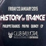 Philippe Traikos @ History Of Trance - Balmoral - 23-01-2015 (+ Crowd)