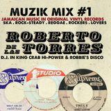 VINTAGE JAMAICAN MUZIK , MIX#1 PAPA ROBBIE DISCO STEREO