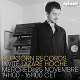 Popcorn Records Invite Lazare Hoche - 25 Novembre 2015