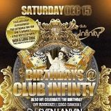 Dj Thierry @ Club Infinity Birthdays 15 12 12