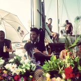 GUY GERBER / Live from the Wisdom of the Glove Pacha boat / 17.07.2013 / Ibiza Sonica