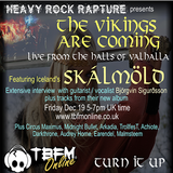 The Vikings are coming Dec 19 feat Skalmold