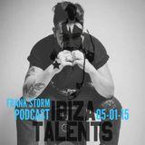 FRANK STORM - Special Podcast for Ibiza Talents Monday 5th January 2015 @ Pacha Ibiza