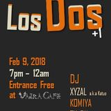 Los Dos+1 @Vajra Cafe Feb9,2018