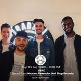 DYAD w_ Special Guest Maurice Alexander (Nail Shop Records) - 21st August 2017