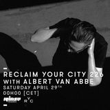 Reclaim Your City 226 | Albert van Abbe