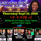 Nominees for the Best Male Gospel Reggae Singers for the 2018 Lady Flava Radio Award Show