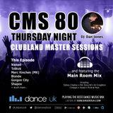 CMS80t - Clubland Master Sessions (Thur) - DJ Dan Jones - Dance Radio UK (08 JUN 2017)