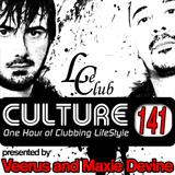 Le Club Culture Radio Show 141 (Veerus & Maxie Devine)