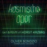 Oliver Bondzio at Kosmische Oper - Horst Krzbrg Berlin (08.10.2011)