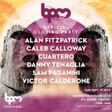 Cuartero - live at Closing Party (BPM Portugal 2017) - 17-Sep-2017