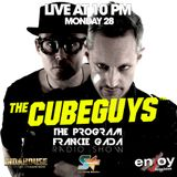THE PROGRAM - Frankie Gada Radioshow - Interview with THE CUBE GUYS