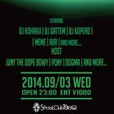"DJ KOHAKU & JUNY THE DOPE BOY PRESENTS ""FOREMAN"" at Socialclubtokyo"