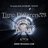 Dirk - Host Mix - Time Differences 296 (7th January 2018) on TM Radio